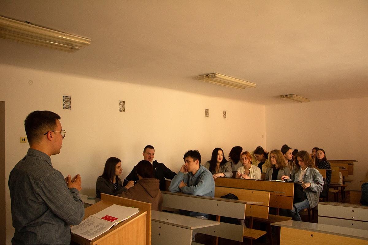На факультеті міжнародних відносин – день «DREAM IT, WISH IT, DO IT!»