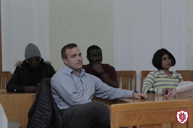Зустріч із іноземними студентами ВНУ імені Лесі Українки
