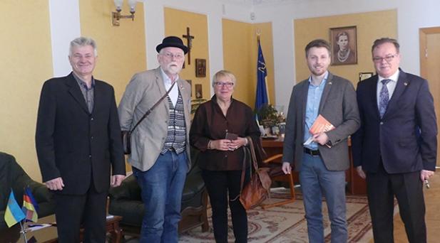 Ігор Коцан провів зустріч із новим головою спілки «Мости дружби в Україну»