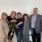 Викладачі кафедри здоров'я і фізичної культури привітали колегу з ювілеєм