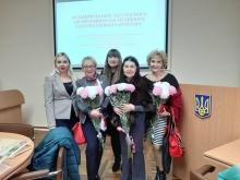 Науковці вишу Лариса Макарук і Сергій Романов успішно захистили дисертації на здобуття наукового ступеня доктора філологічних наук