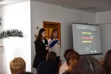 До Дня української мови та писемності студенти факультету філології та журналістики презентували мультиплікаційний правопис