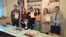 Переможці змагань із шахів серед студентства – збірна команда факультету інформаційних систем, фізики та математики
