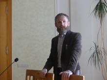 Презентація програми німецької економіки для України координатором проекту Андрієм Гончаруком