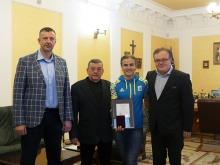 Ірина Климець удостоєна Золотого нагрудного знаку СНУ імені Лесі Українки