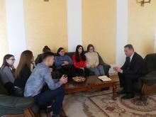Анатолій Цьось зустрівся із представниками Студради