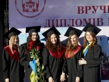 Магістри Лесиного вишу отримали дипломи